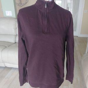 Van Heusen small pullover sweater brown